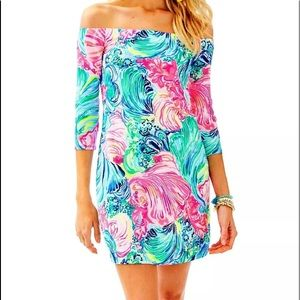 Lilly Pulitzer Laurana off the shoulder dress XS